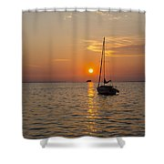 Sunset Southern Style Shower Curtain
