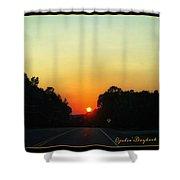 Sunset Spendor Shower Curtain