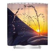 Sunset Spout 0017 Shower Curtain