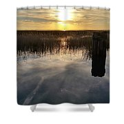 Sunset St Clair  Shower Curtain