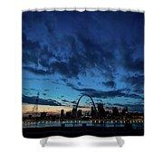 Sunset St. Louis IIi Shower Curtain