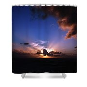 Sunset St. Thomas Shower Curtain