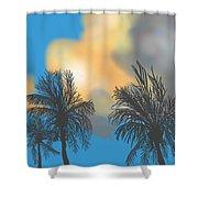 Bermuda High Shower Curtain