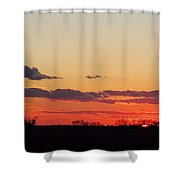 Sunset Strip II Shower Curtain