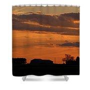 Sunset Strip Shower Curtain