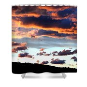 Sunset Supreme Shower Curtain