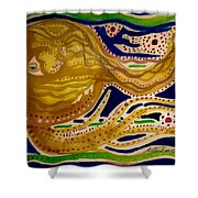 Sunset To Moonset Shower Curtain