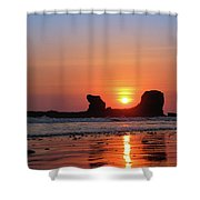 Sunset To Remeber  Shower Curtain