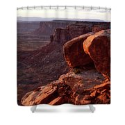 Sunset Tour Valley Of The Gods Utah Vertical 01 Shower Curtain