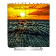 Sunset Trails Shower Curtain