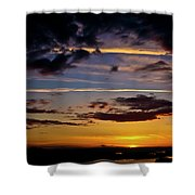 Sunset Vista Shower Curtain