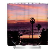 Sunset Walker Shower Curtain