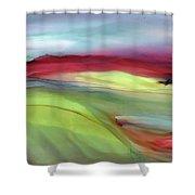 Sunset Western Scotland  Shower Curtain