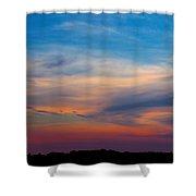 Sunset Windsor Illinois Shower Curtain