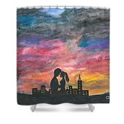 Sunset With You Shower Curtain