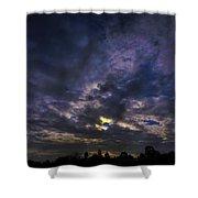 Sunseticus Dramaticus Shower Curtain