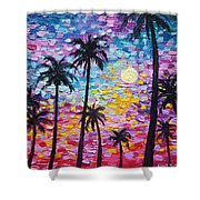 Sunsets In Florida Shower Curtain