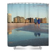 Sunsets On Marco Island Shower Curtain