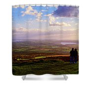 Sunsets Over The Irish Midlands Shower Curtain