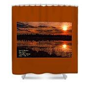 Sunsettia Gloria Catus 1 No. 1 L A. Shower Curtain