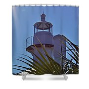 Sunshine At The Lighthouse Shower Curtain