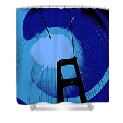 Sunshine Bridge Shower Curtain