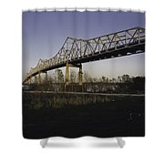 Sunshine Bridge Shower Curtain