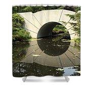 Sunshine Brige Reflection Shower Curtain