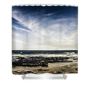 Sunshine Coast Landscape Shower Curtain