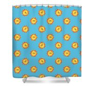 Sunshine Daisy Repeat Shower Curtain
