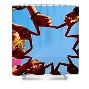 Sunshine Gang Shower Curtain