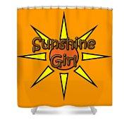 Sunshine Girl Shower Curtain
