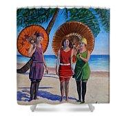 Sunshine Girls Shower Curtain