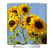 Sunshine Happy Shower Curtain