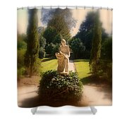 Sunshine Lady Shower Curtain