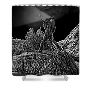 Sunshine Mine Disaster Memorial -  Idaho State Shower Curtain