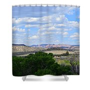 Sunshine On The Mountains - Verde Canyon Shower Curtain