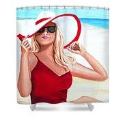 Sunshine Summer Shower Curtain