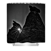 Sunstar At Tent Rocks Shower Curtain