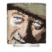 Suntan John Wayne Shower Curtain