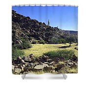 Sunup In Ghost Town Shower Curtain