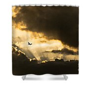 Sunvisors Down Shower Curtain