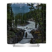 Sunwapta Falls Shower Curtain