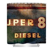 Super 88 Diesel Shower Curtain
