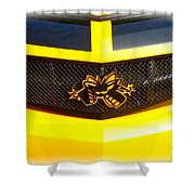 Super Bee Camaro Grill Shower Curtain