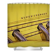 Super Charged Shower Curtain