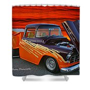 Super Cool Old Pickup Shower Curtain