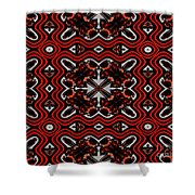Super Highways Abstract Shower Curtain