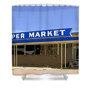 Super Market Shower Curtain