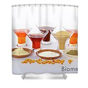 Super Prime Fish Meal Shower Curtain